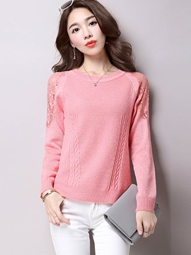 Stylish Multi Color Patchwork Sweater