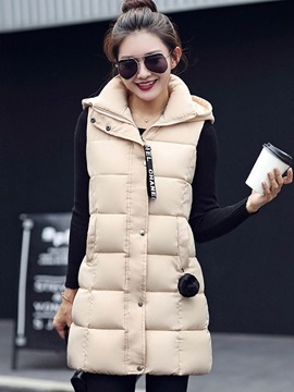 Stylish Multi Color Hooded Cotton Overcoat
