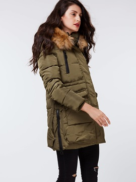 Stylish Big Pockets Thick Overcoat