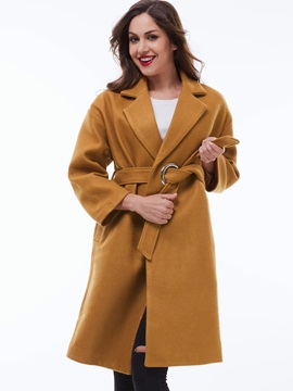 Stylish Belt Loose Overcoat