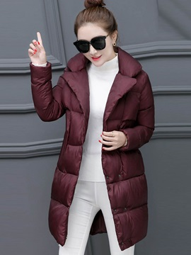 Stylish Pockets Plain Cotton Overcoat
