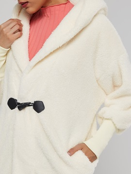 Faux Fur Double Cashmere Women's Teddy Coat