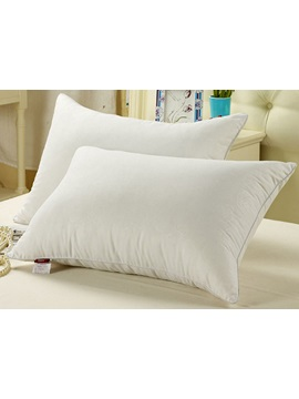Exquisite White 100% Fibre Bed Pillow