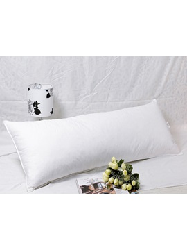 White Bolster Pillow For A Couple