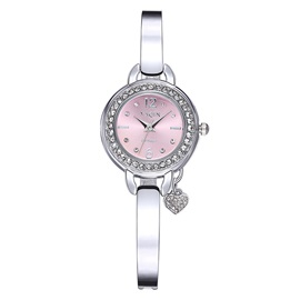 Round Alloy Women Watch