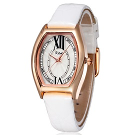 Alloy Cover Pin Buckle Women Watch
