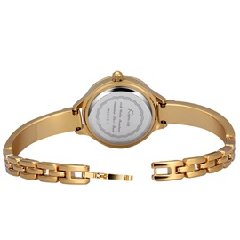 Alloy Cover Women Watch with Rhinestones