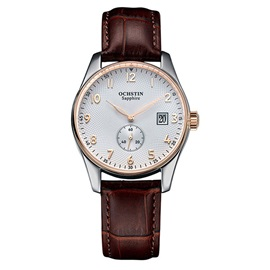Simple Quartz Movement PU Women Watch