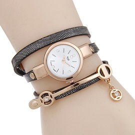 Multilayer Alloy Quartz Bracelet Watch