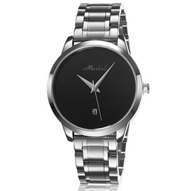 Black Round Dial Women's Analog Watch