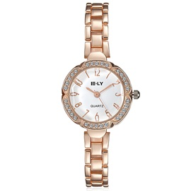 Rose Gold Tone Diamante Women