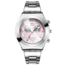 Trendy Luminous Pointer Diamante Watch