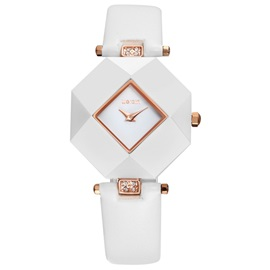 Trendy Polygon Dial Quartz Watch