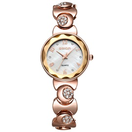 Round Dial Diamante Women