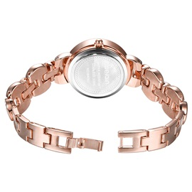 Round Dial Diamante Women's Bracelet Watch