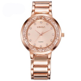 Quartz Diamante Water Resistant Casual Women Watches