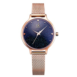 Stainless Steel Analogue Display Starry Sky Watches