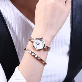 Harden Mineral Glass Alloy Chain Watch