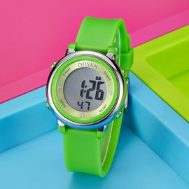 Jelly Candy Color Digital Dial Waterproof Student Sport Watch