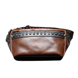 Casual Rivet Men Bag