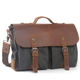 Vintage Style Business Men Shoulder Bag