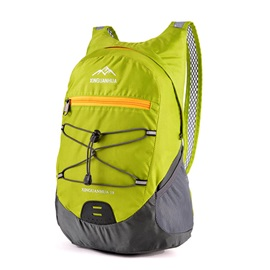 Fashion Foldable Color Contrast Travel Backpack