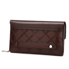 Classic Grained Embossed Men's Wallet