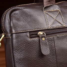 Occident Style Solid Color Men's Bag