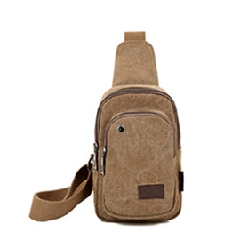Canvas Men Chest Packs
