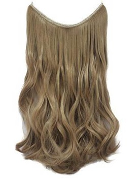Light Honey Blonde Human Hair Flip In Hair Extension
