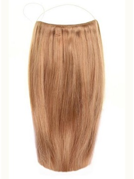 Golden Brown #12 Straight Human Hair Flip In Hair Extension