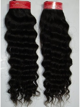 Wholesale Top Quality Curly Human Hair Weave 100g/piece