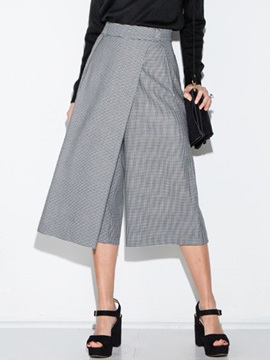 Elegant High-Waist Wide-Leg Pant