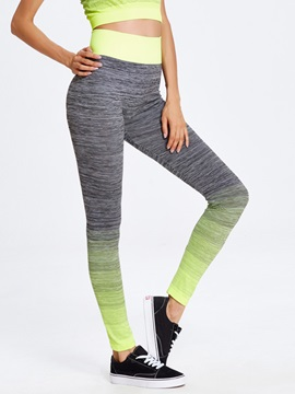 Gradient Color Yoga Leggings