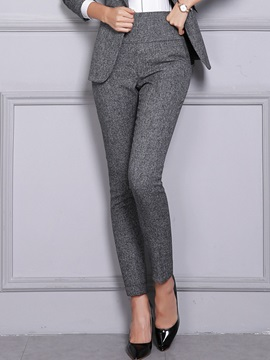 Abdomen In Suit Casual Pants