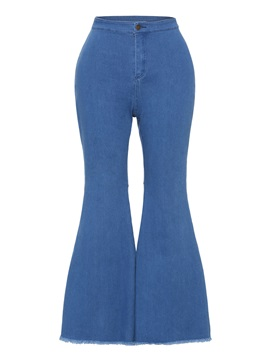 Denim Pocket Full Length Women's Jeans