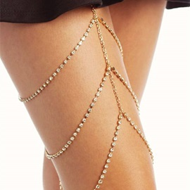 Sexy Multi-Layer Diamante Anklets(just 1 Pic)