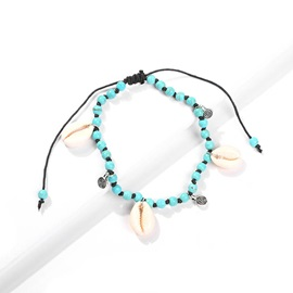 Female E-Plating Sweet Conch Anklets