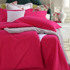 Wannaus Classy Pure Rosy 4-Piece Duvet Cover Sets