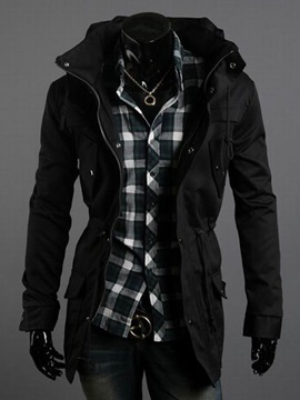 Casual Slim Fit  Men's Coat