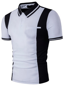 Summer Simple Slim Fit Men's T-shirt