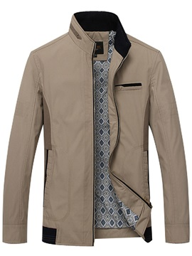 New Fashion Collar Leisure Men's Jacket