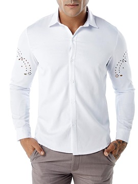 Tidebuy Simple Style Plain Men's Casual Shirt
