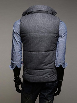 Graceful Zip Warm Men Vest