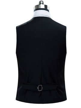 Men's Plain V-Neck Sleeveless Vest