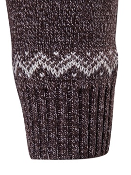 Simple Pattern Men's Pullover Sweater