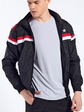 Stand Collar Men's Casual Bomber Jacket