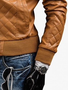 Casual Zipper Long Sleeve Men's Jacket