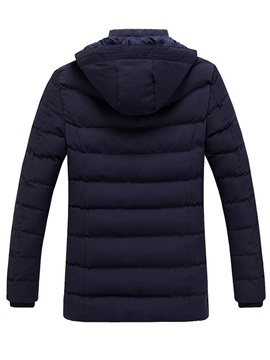 Thermal Zippered Winter Men's Coat