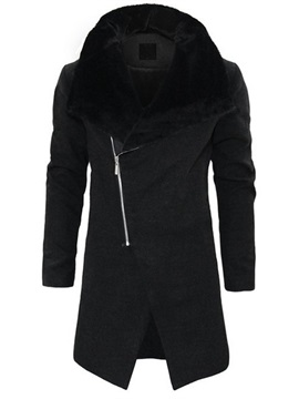 Fleece Zipper Fashion Men